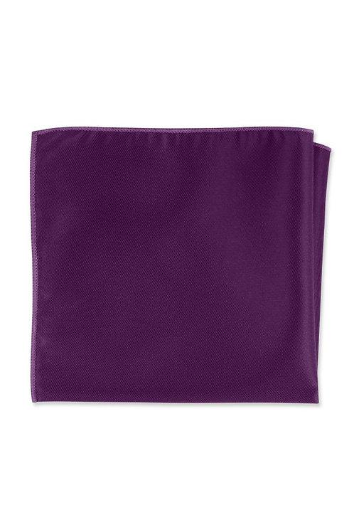 Solid Violet Pocket Square