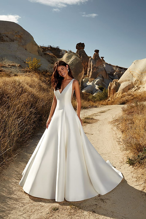 Charlotte DR2018 Eddy K Ballgown Wedding Dress- To Order