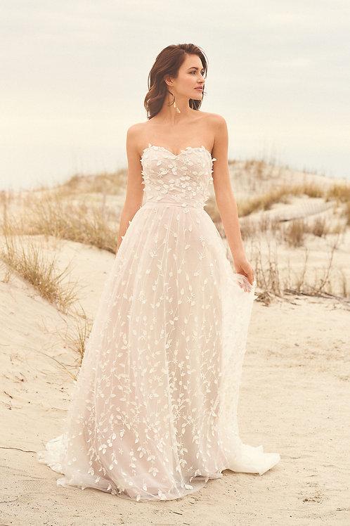 66117 Lillian West A-Line Wedding Dress- To Order