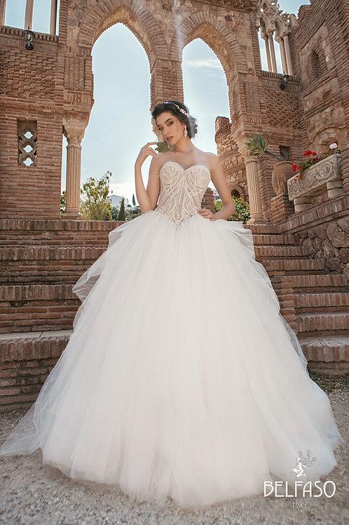 Prima Belfaso Ballgown Wedding Dress- To Order