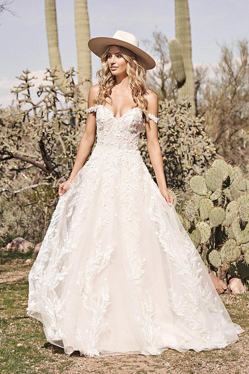66176 Lillian West A-Line Wedding Dress- To Order
