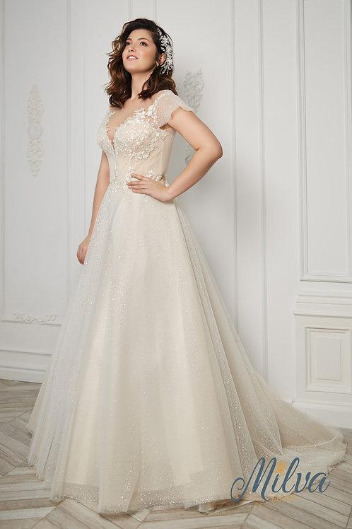 Gabriel Milva Ballgown Wedding Dress- To Order