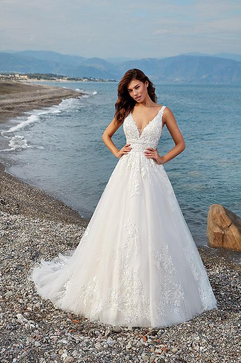 Lolana DR1974 EddyK Ballgown Wedding Dress- In Stock