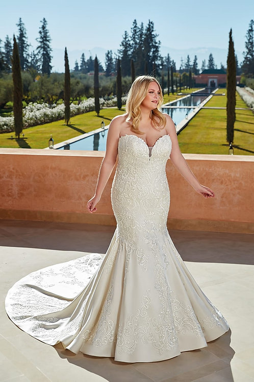 UR135 Eddy K Mermaid Wedding Dress- To Order