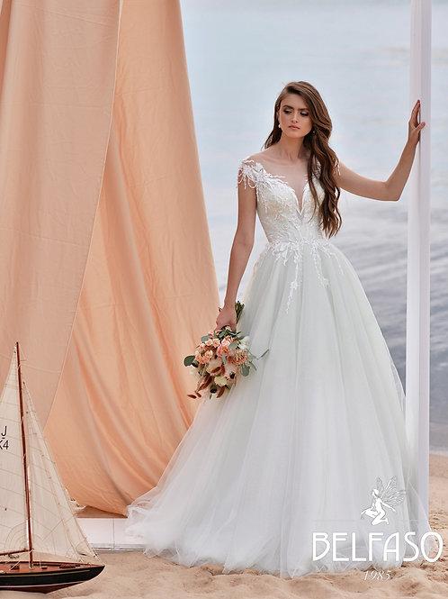 Lillian Belfaso Ballgown Wedding Dress- To Order