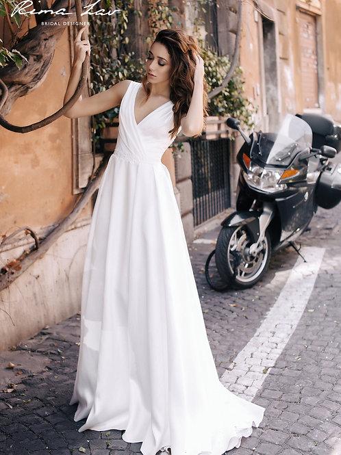 Dita Rima Lav A-line Gown- IN STOCK