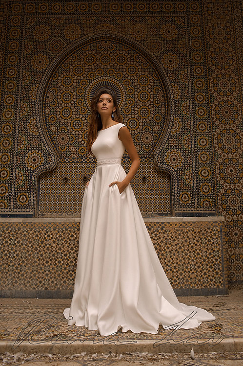 Penny Rima Lav A-Line Wedding Dress- To Order