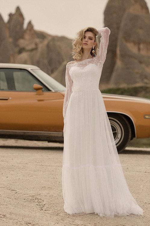 Alice Milva Sheath Wedding Dress- To Order
