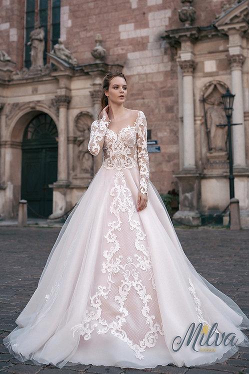 Evridicka Milva Ballgown Wedding Dress- To Order