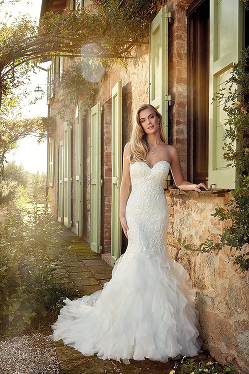 Kate EK1350 Eddy K Mermaid Wedding Dress- To Order