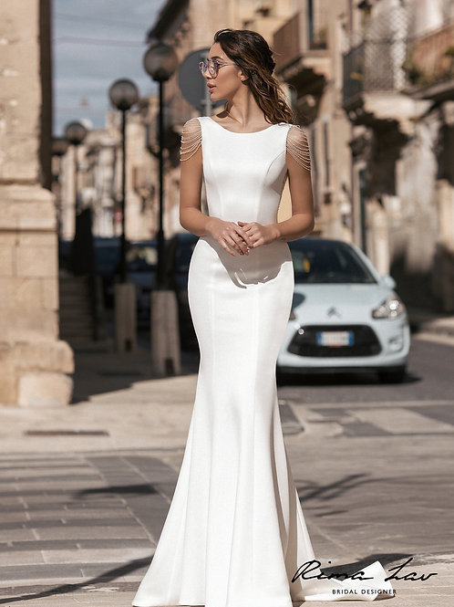 Vivi Rima Lav Fit & Flare Wedding Dress- To Order