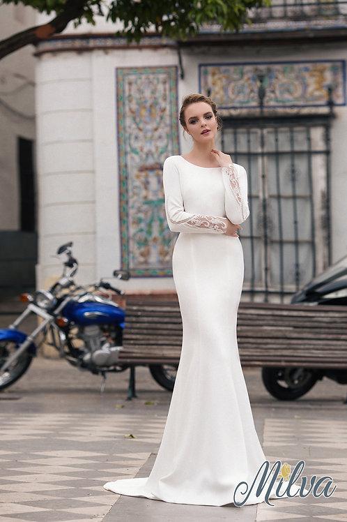 Inger Milva Fit & Flare Wedding Dress- To Order