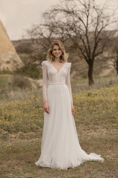 Landora Milva Sheath Wedding Dress- To Order