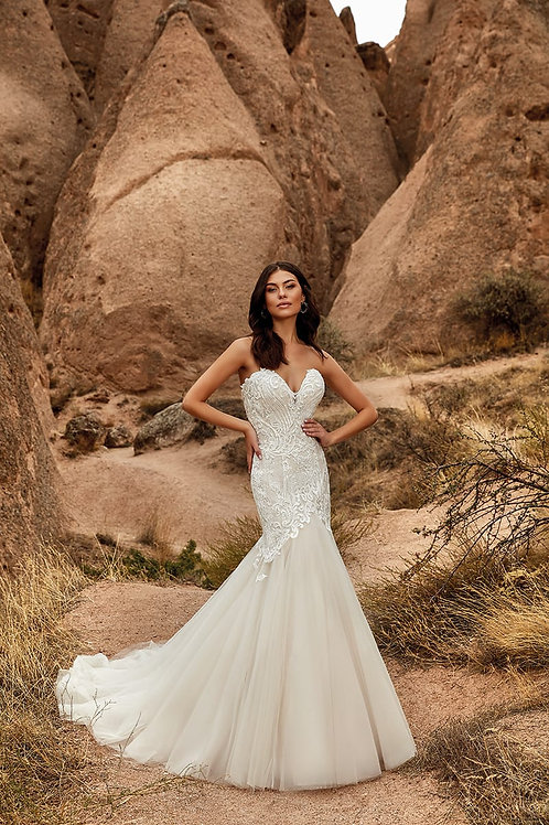 Natasha DR2028 Eddy K Mermaid Wedding Dress- To Order