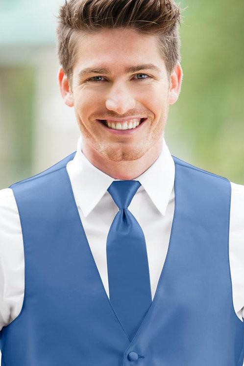 Solid Expressions Cornflower Windsor Tie