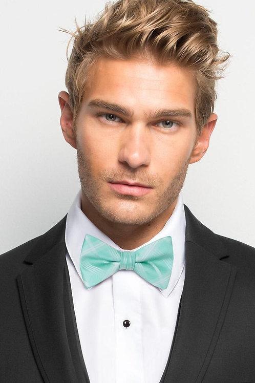 Tiffany Blue Plaid Bow Tie
