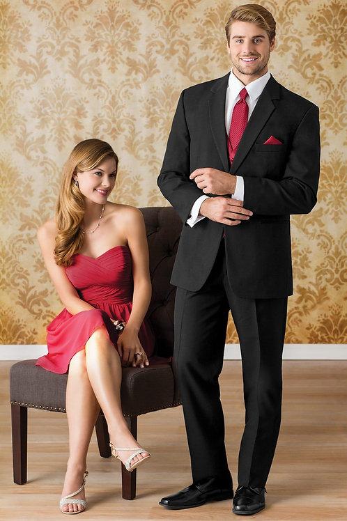 Stephen Geoffrey Black Wedding Suit
