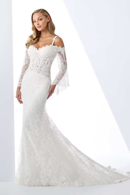 119106 Enchanting Fit & Flare Wedding Dress- To Order