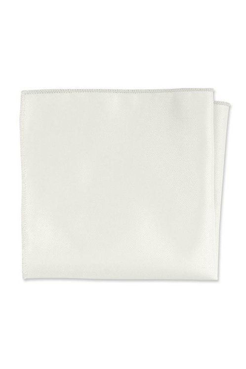 Expressions Ivory Pocket Square