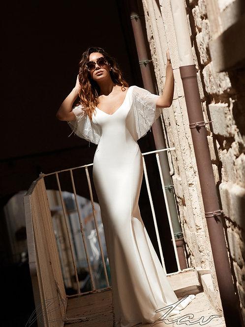 Novella Rima Lav Fit & Flare Wedding Dress- To Order