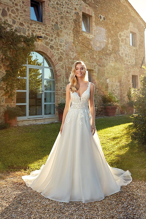Fiona EK1342 Eddy K A-Line Wedding Dress- To Order
