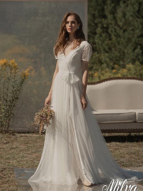 Terry  Milva A-Line Wedding Dress- To Order