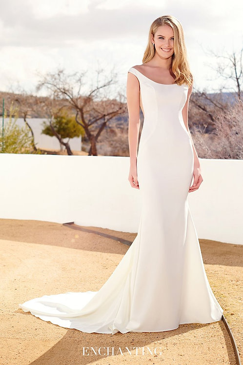 220121 Enchanting Fit & Flare Wedding Dress- To Order