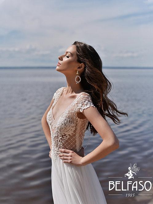 Felicia Belfaso Sheath Wedding Dress- To Order