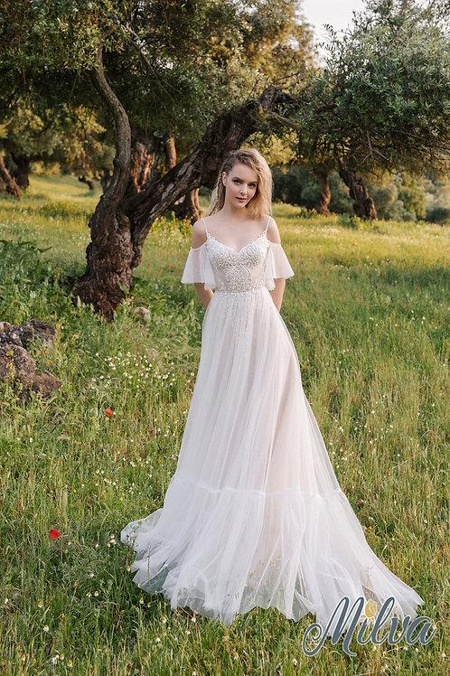Ursula Milva A-Line Wedding Dress- To Order