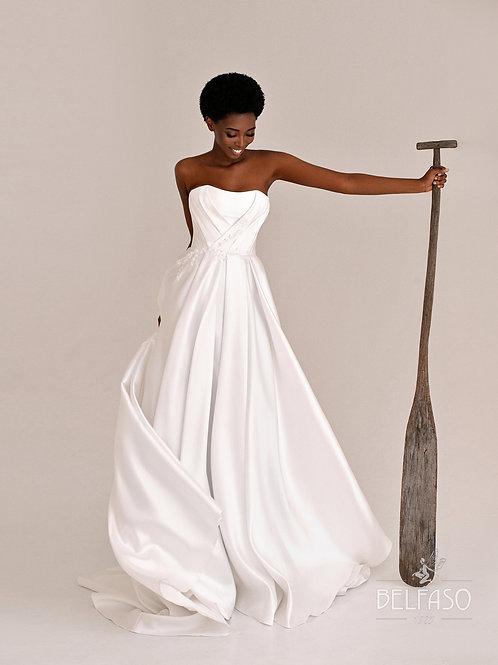 Eriksen Belfaso  A-Line Wedding Dress- To Order