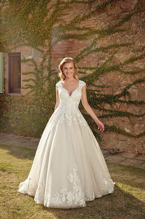 Sandy EK1364 Eddy K Ballgown Wedding Dress- To Order