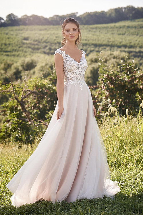 66133 Lillian West A-Line Wedding Dress- To Order