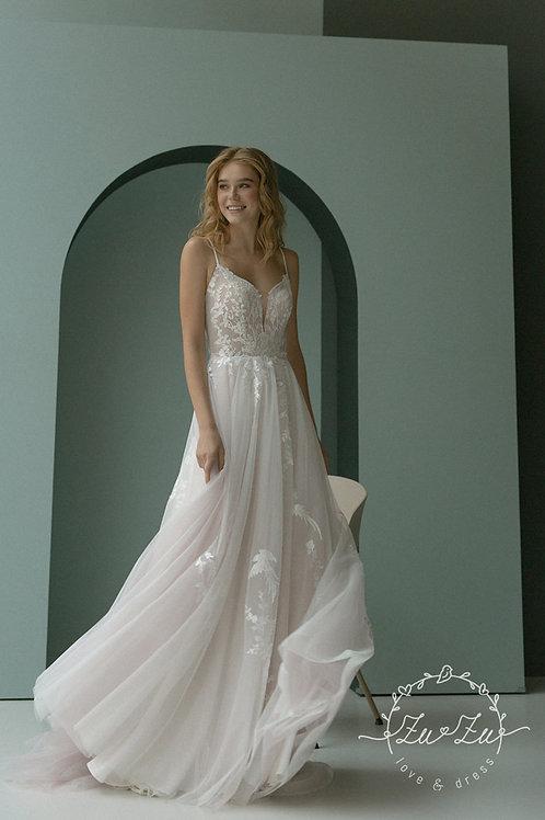 Reny Zuzu A-Line Wedding Dress- To Order