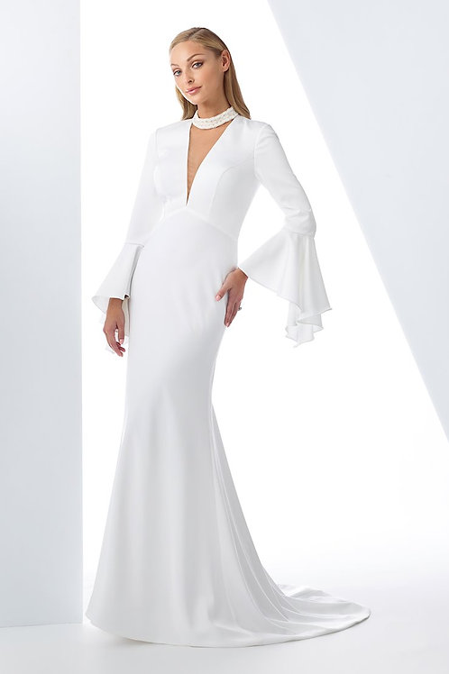 119129 Enchanting Fit & Flare Wedding Dress- To Order