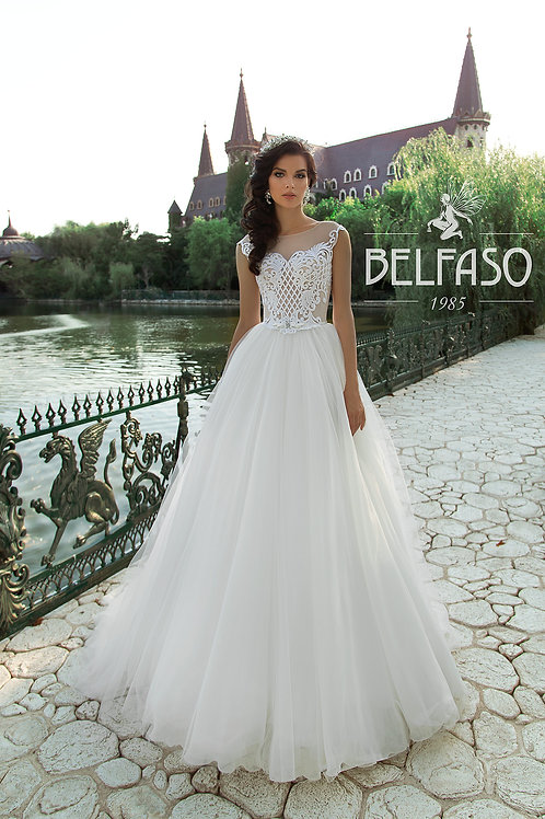 Helen Belfaso A-line Wedding Dress-In Stock