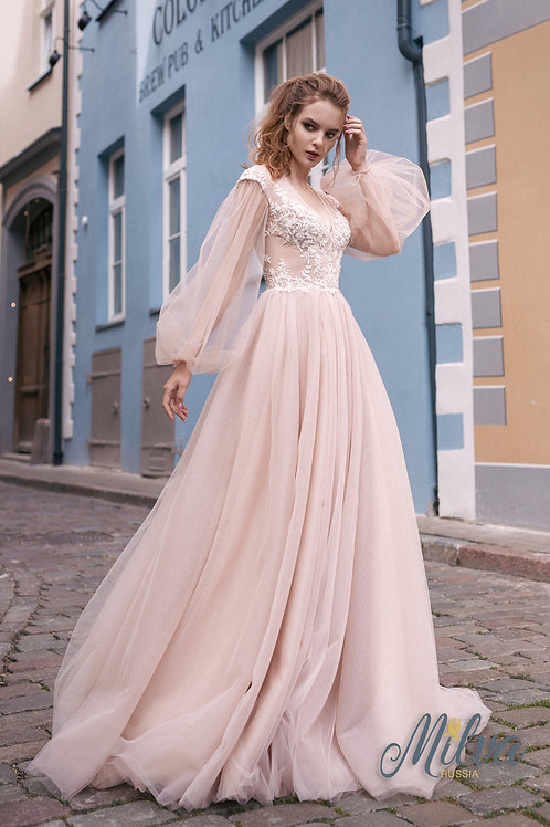 Villina Milva A-Line Wedding Dress- To Order