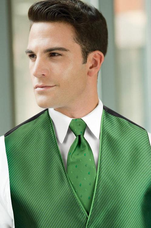 Diamond Synergy Kelly Green Windsor Tie