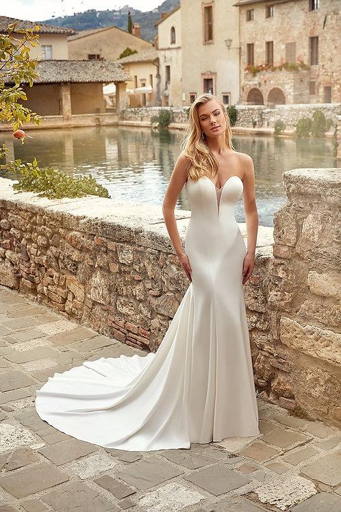 Morgan EK1358 Eddy K Fit & Flare Wedding Dress- To Order