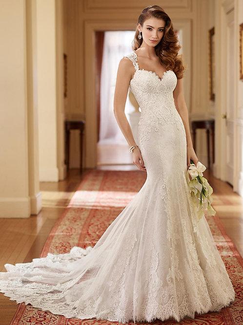 Helen 217221 Martin Thornburg Trumpet Wedding Dress-In Stock