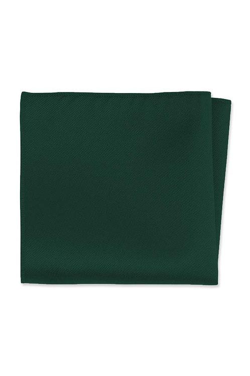 Expressions Hunter Green Pocket Square