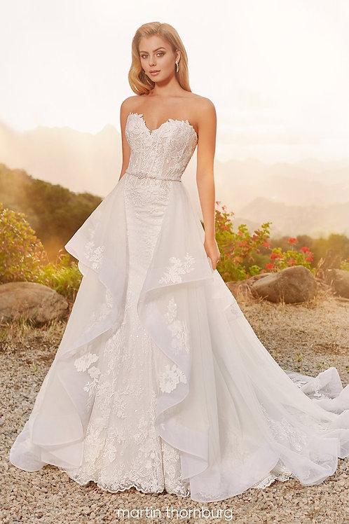 Willow 120242 Martin Thornburg Fit & Flare Wedding Dress- To Order