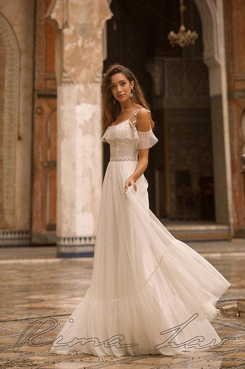 Desire Rima Lav Sheath Wedding Dress- To Order