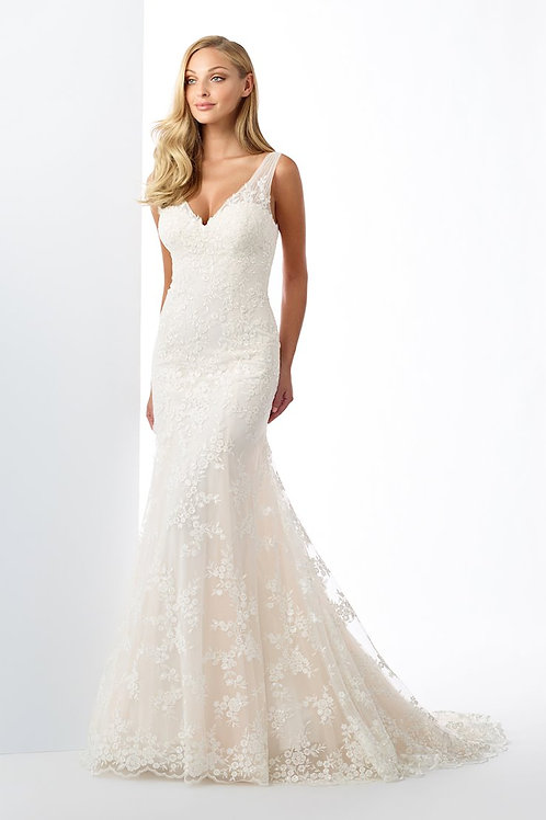 119114 Enchanting Fit & Flare Wedding Dress- To Order