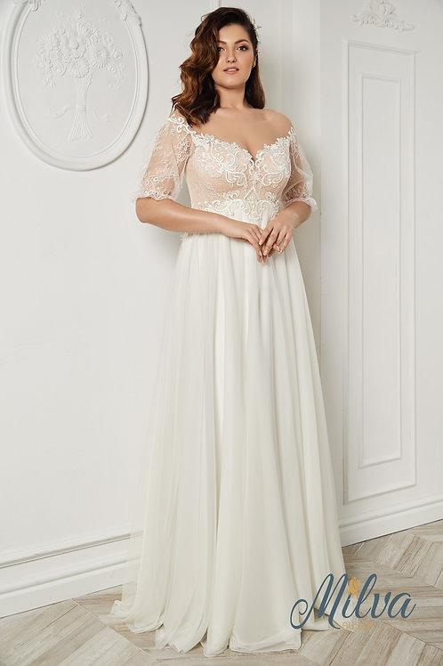 Thea Milva A-Line Wedding Dress- To Order