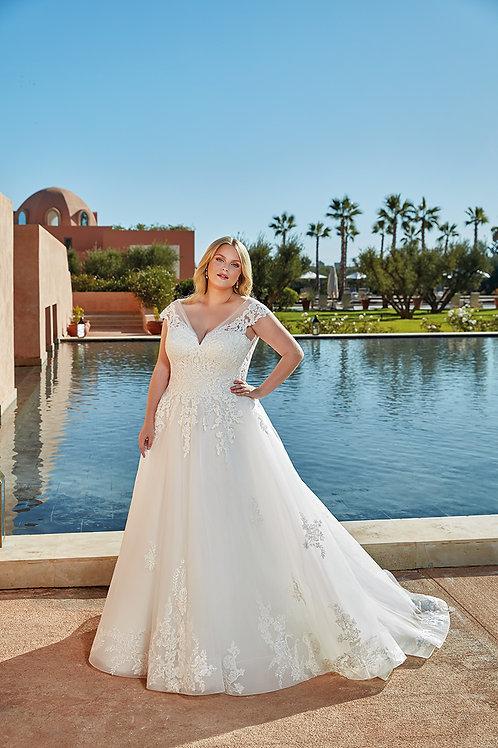 UR137 Eddy K A-Line Wedding Dress- To Order