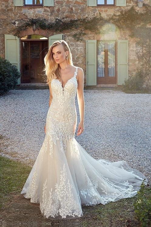 Georgia EK1343 Eddy K Fit & Flare Wedding Dress- To Order