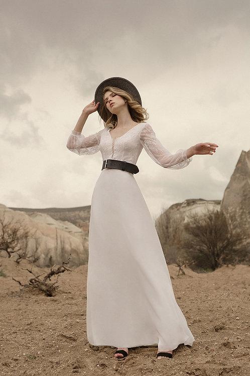 Odette  Milva Sheath Wedding Dress- To Order