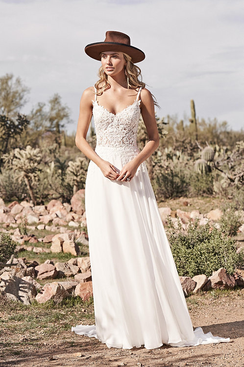 66158 Lillian West A-Line Wedding Dress- To Order