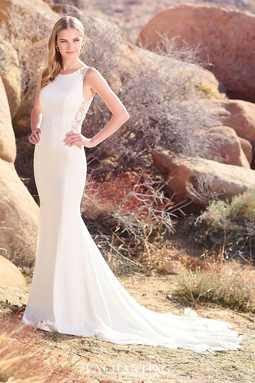 220111 Enchanting Fit & Flare Wedding Dress- To Order