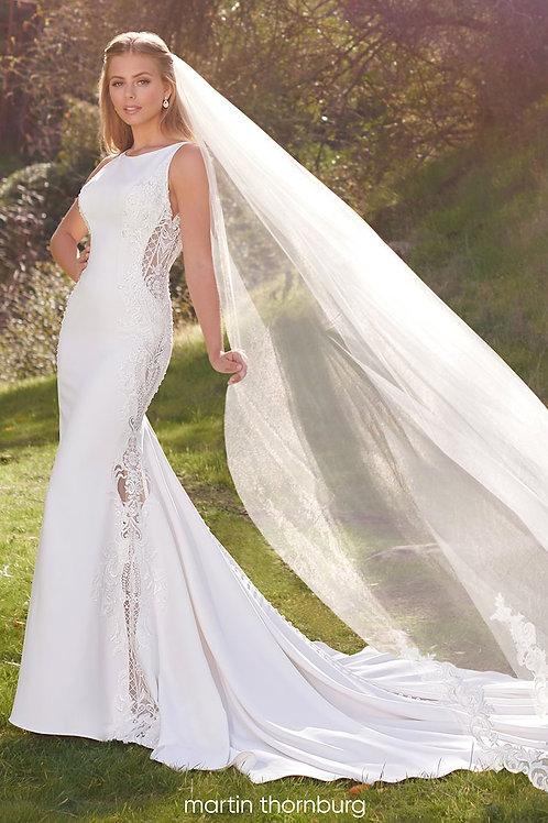 Benecia 220272 Martin Thornburg Fit & Flare Wedding Dress- To Order